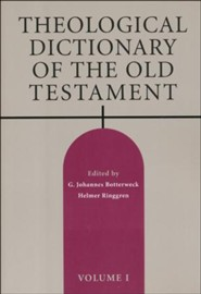 Theological Dictionary of the Old Testament, Volume 1