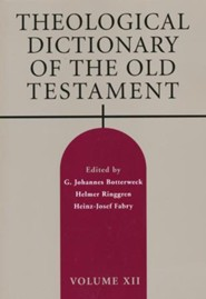 Theological Dictionary of the Old Testament, Volume 12