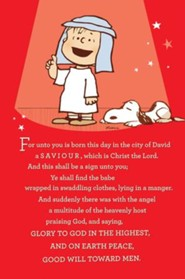 That's What Christmas is About, Peanuts Cards, Box of 18