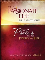 Psalms: Poetry on Fire Book Five 12-week Study Guide - eBook