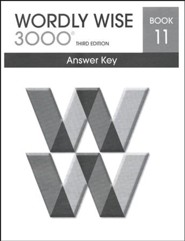Wordly Wise 3000 3rd Edition Answer Key Book 11