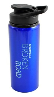 Water Bottle, Flip Top, GBTBR, Blue