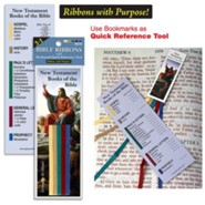 Bible Ribbons Bookmark, New Testament