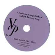 Chronicles-Malachi Memory Song CD
