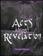 Acts-Revelation School Manual