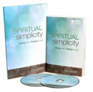 Spiritual Simplicity Group Starter Kit (1 DVD Set & 5 Study Guides)