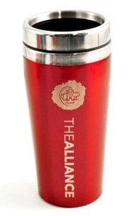 The Alliance, Travel Mug, Red