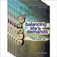Balancing Life's Demands Study Guide 5 pack