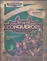 The Conquerors VBS 2016: Beginner Activity Pages with Stickers