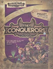 The Conquerors VBS 2016: Primary Activity Pages with Stickers