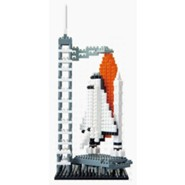 Nanoblock Sights To See, Space Center