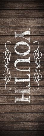 Rustic Charm Youth Vinyl Banner (2 x 6)