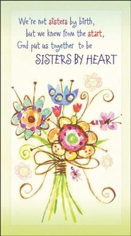 God Made Us Sisters by Heart, 2018/2019 Two-Year Pocket Planner