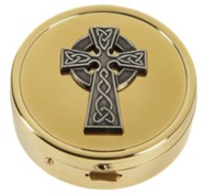 Celtic Cross Pyx, Set of 3