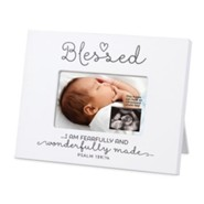 Blessed Baby, Sonogram Photo Frame