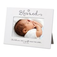 Blessed, Baby Ceramic Photo Frame