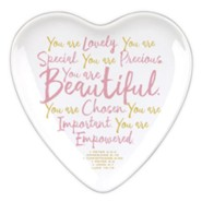 You Are Beautiful Heart Tray