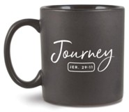 Journey, Ceramic Mug  Jeremiah 29:11