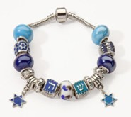 Star of David Collection Charm Bracelet