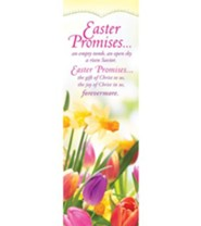 Easter Promises (2 Corinthians 9:15, NIV) Bookmarks, 25