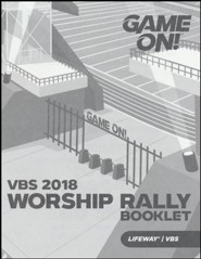 Game On: Worship Rally Booklet (pkg. of 25)