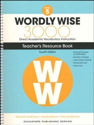 Wordly Wise 3000 Book 5 Teacher's Guide (4th Edition;  Homeschool Edition)