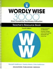 Wordly Wise 3000 Book 6 Teacher's Guide (4th Edition)