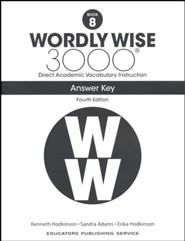 Wordly Wise 3000 Book 8 Key (4th Edition)
