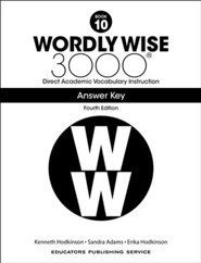 Wordly Wise 3000 Book 10 Key (4th Edition)