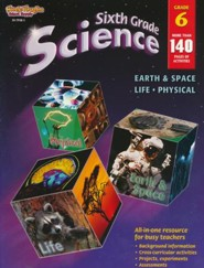 Science: Life, Physical, Earth & Space Grade 6