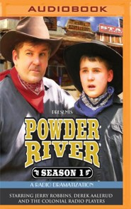 Powder River - Season One: A Radio Dramatization on MP3-CD