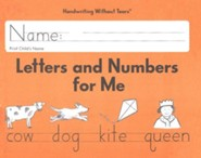 Letters and Numbers for Me Student Workbook Grade K, Updated Edition