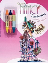 Fancy Nancy Fashionista: A Coloring and Activity Book [With 3 Crayons]