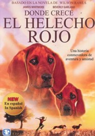 Donde Crece El Helecho Rojo  (Where the Red Fern Grows), DVD