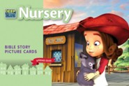 Deep Blue: Nursery Bible Story Picture Cards, Spring 2020