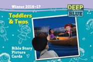 Deep Blue: Toddlers & Twos Bible Story Picture Cards Winter 2016-17