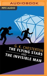 The Flying Stars and The Invisible Man - unabridged audio book on MP3-CD