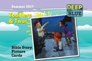 Deep Blue: Toddlers & Twos Bible Story Picture Cards Summer 2017