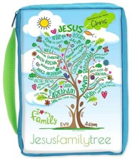 Jesus Family Tree Youth Bible Cover