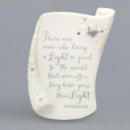 Bereavement Plaque, There Are Some Who Bring A Light So Great