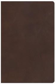 Genuine Leather Brown Thumb Index