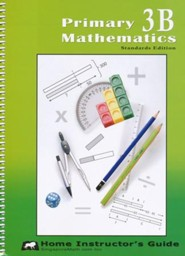 Primary Mathematics Home Instructor's Guide 3B (Standards Edition)