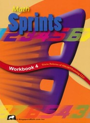 Math Sprints Workbook 4