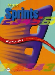 Math Sprints Workbook 6
