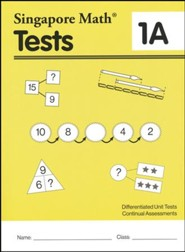 Singapore Math Tests 1A (Primary Mathematics Common Core Edition)