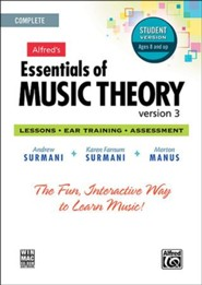 Essentials of Music Theory CD-Rom Student Version 3  Complete Volume Package