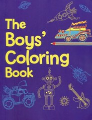The Boys Coloring Book, Ages 3-6