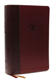 Imitation Leather Burgundy Book Third Edition