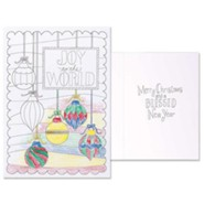 Joy To the World, Color Cards, Pack of 12