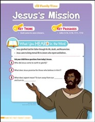 Answers Bible Curriculum Year 3 Quarter 2 Grades 1-2 Student Take-Home Sheets